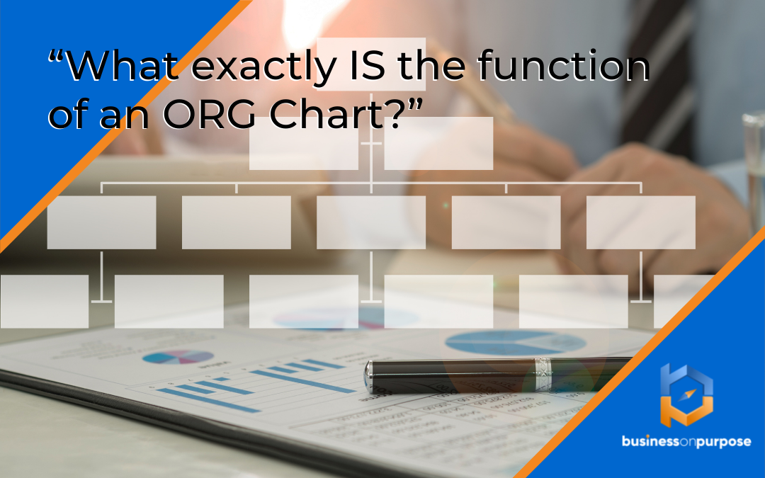 What exactly IS the function of an Org Chart?