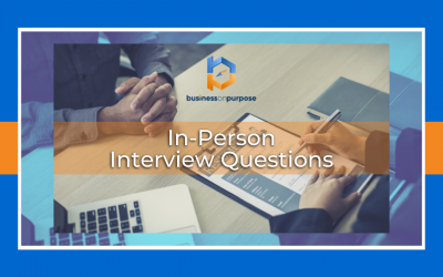 In-Person Interview Questions